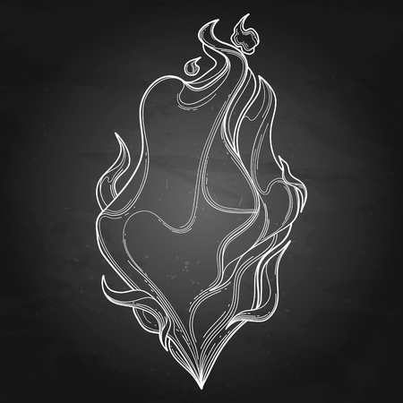fervent: Abstract graphic fire