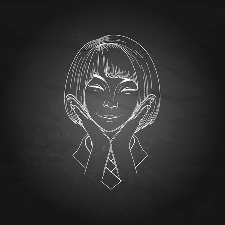 cute girl: Cute asian girl