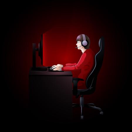 major battle: Cyber sport team