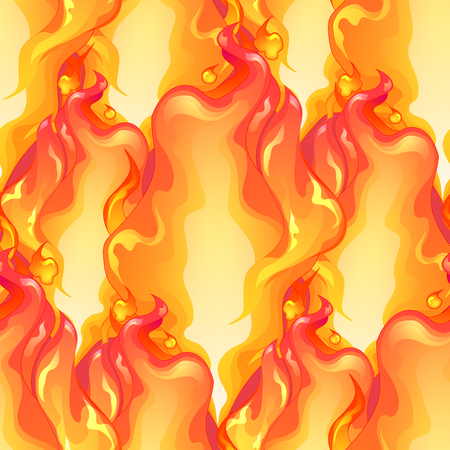 Abstract graphic fire