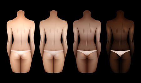 Gabarits des corps féminins