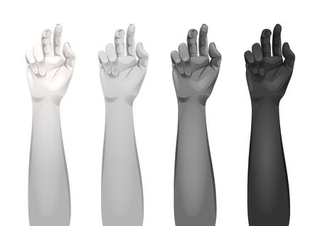 Women arms templates