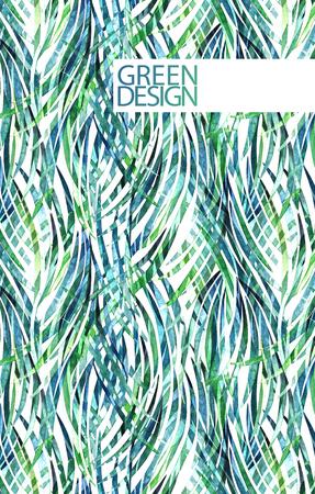 tillandsia: Watercolor tillandsia cyanea design