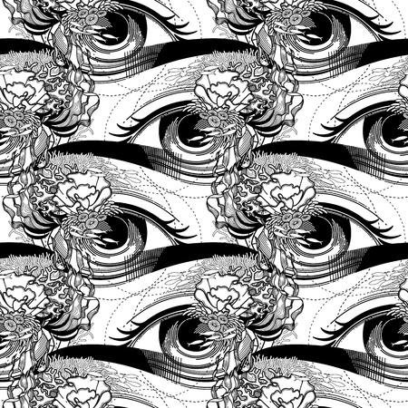 mackerel: Abstract graphic eye