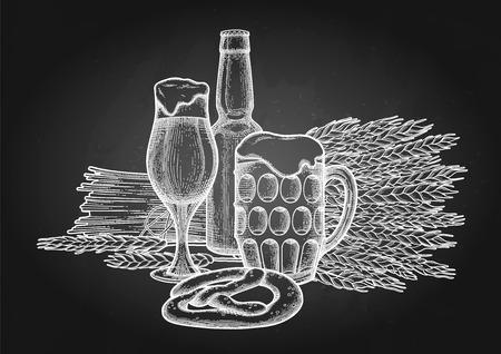 Graphic october fest design