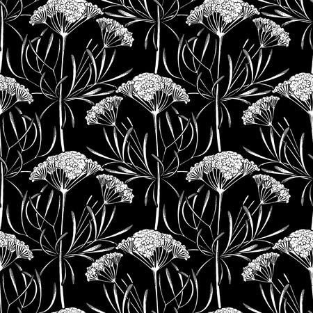 Graphic cumin pattern