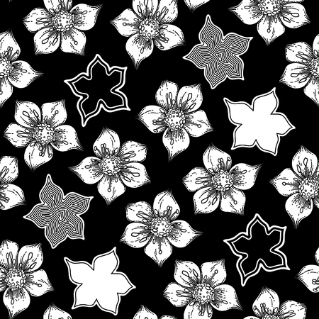 Graphic cumin pattern Vettoriali