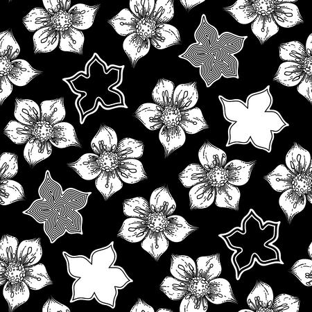 Graphic cumin pattern Illustration