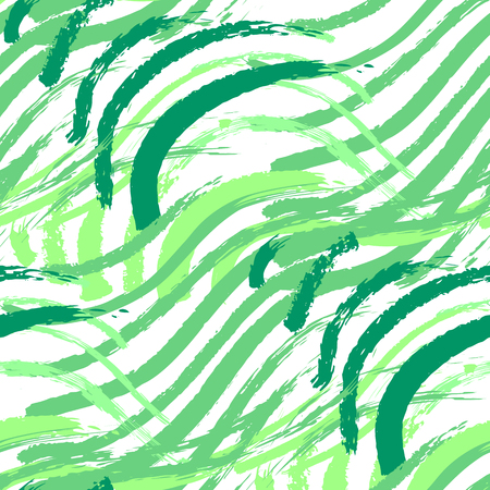 Vector seamless pattern of abstract green grass