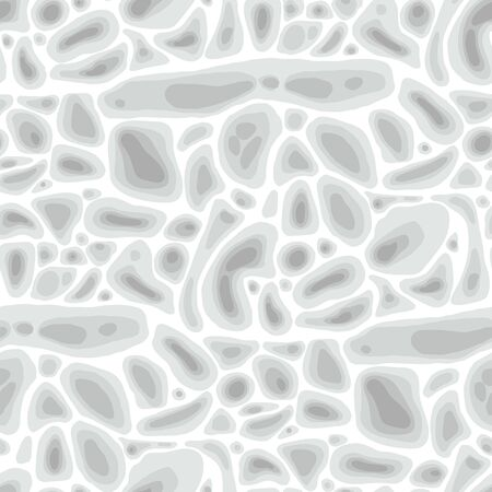 Abstract seamless pattern of soft formless structures.
