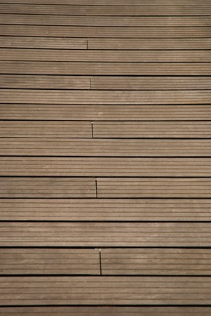 Part of a brown woodboard texture. photo