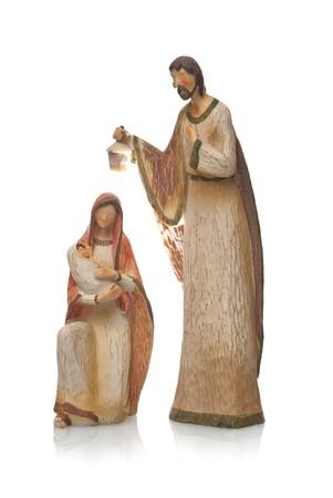 mary and jesus: Mary, Jesus and Joseph