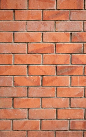 Red brick wall texture. Stock Photo