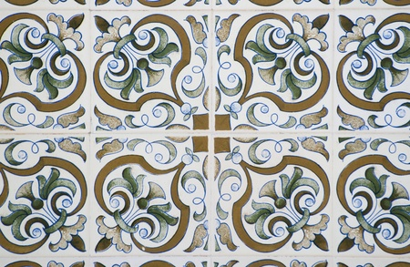 Old tiles detail abstract pattern. Stock Photo - 10405988
