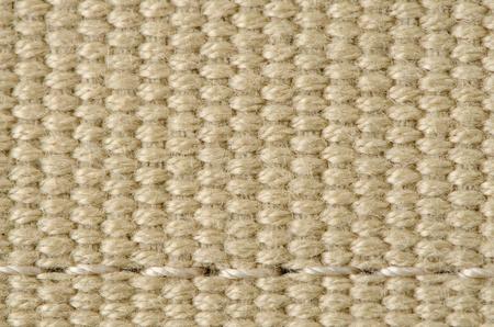 hand woven: Closeup di una sezione di un cesto intrecciato mano.