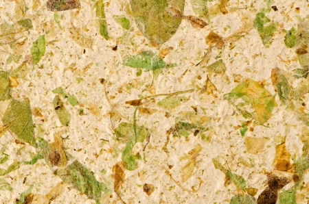 Closeup of handmade paper texture background. Stock Photo - 12192623