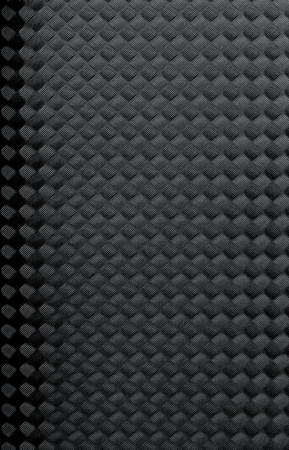 Black rubber texture closeup background. photo