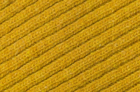 Yellow wool texture, bay be used as background. photo