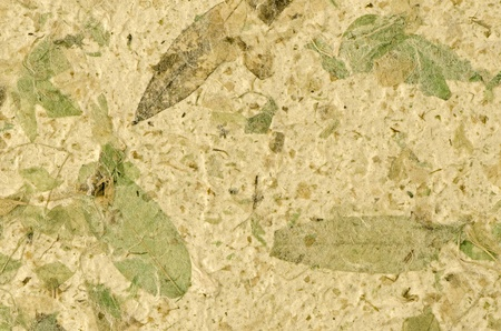 Closeup of handmade paper texture background. Stock Photo - 12393551
