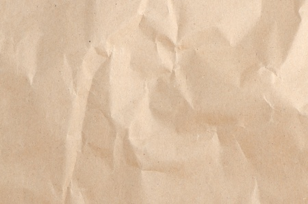 Abstract clean crumpled packaging paper texture. photo