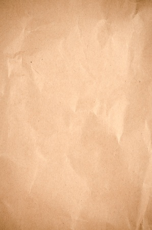 Abstract clean crumpled packaging paper texture. Stock Photo - 13194162