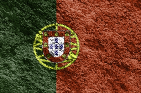 Portugal grunge flag texture background  photo