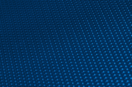 Blue  metal mesh plating isolated against a white background Stock Photo - 14454525
