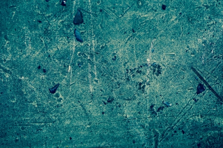 Blue painted iron texture close-up background. photo