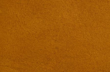 Closeup of natural background - orange suede  Stock Photo