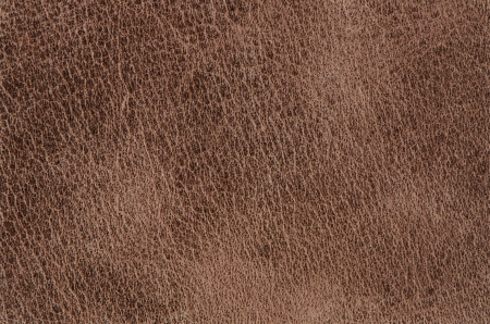 Brown leather texture closeup detailed background. Фото со стока - 14783255