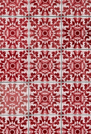 Ornamental old typical tiles from Portugal. Фото со стока - 14946296