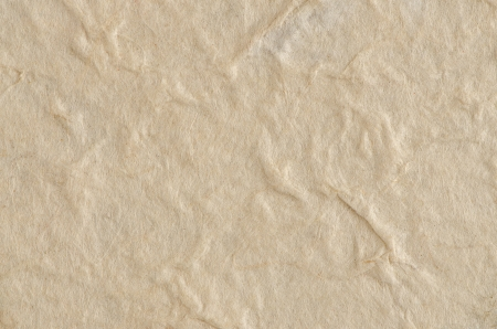 Cream textured paper closeup, can be used as a background. photo