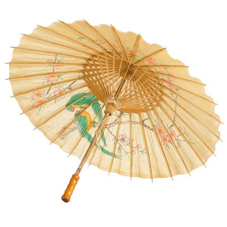 Oriental paraguas aislados en fondo blanco. Foto de archivo - 16050231