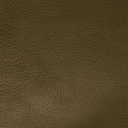 Green leather texture closeup background. photo