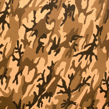 Close up camouflage texture artificial leather. photo