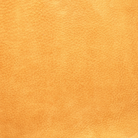 Closeup on yellow leather background  photo