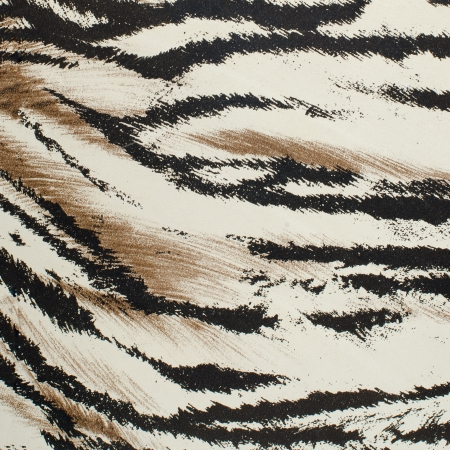 tiger white: Brown and white tiger skin artificial pattern background.