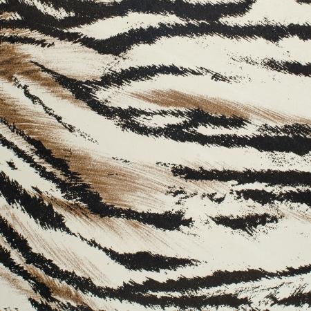 Bruin en wit tijgervel kunstmatig patroon achtergrond.