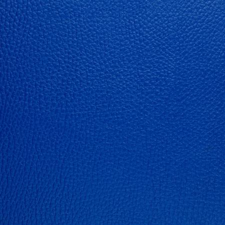cuero vaca: Textura de cuero azul Primer plano detallado de fondo.