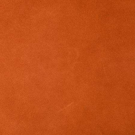 Vivid orange leather background photo