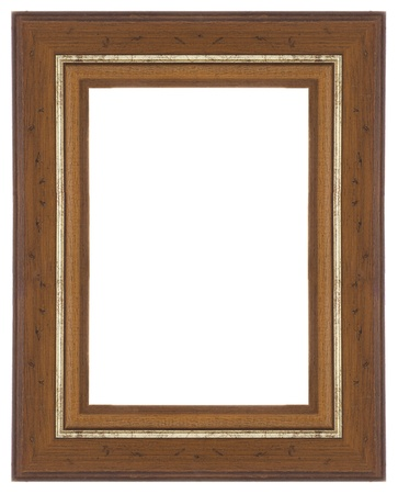 Wooden frame for paintings or photographs. photo
