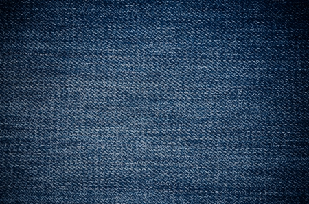 Blue jeans fabric texture background. photo