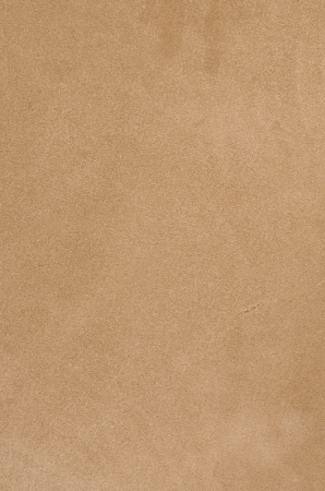back rub: Brown chamois texture, fluffy and soft background.