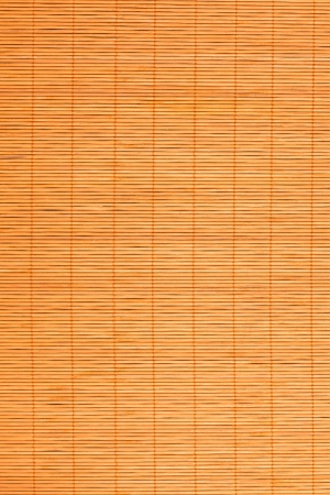 bamboo placemat straw wood background natural decor photo