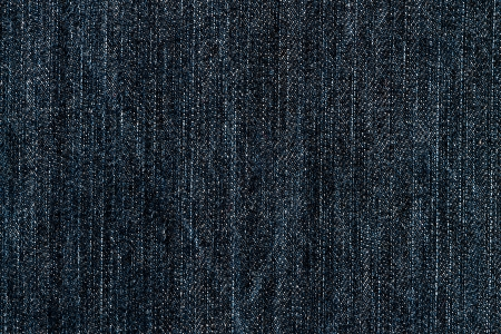 Blue demin fabric texture background. photo