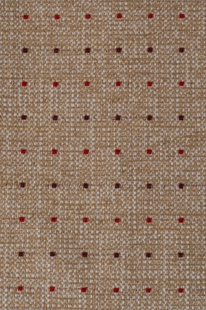 banding: Closeup detail of brown fabric texture background.
