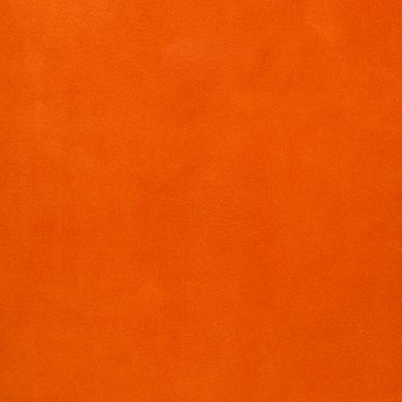 Orange leather texture closeup background. Stock Photo