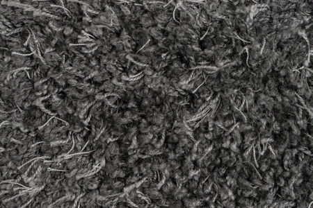 Closeup detail of grey carpet texture background. photo