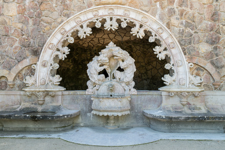 mistic: One of the surprising and enigmatic monuments of Landscape of Sintra,Quinta da Regaleira