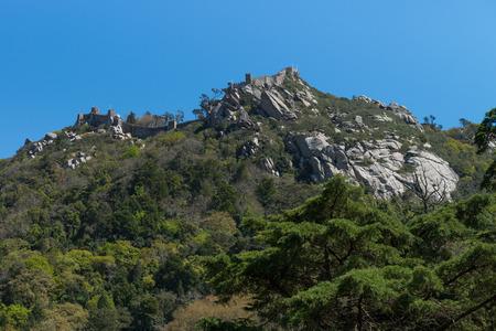sintra: Castelo dos Mouros, Sintra, Portugal.